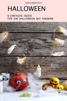 Basteln, dekorieren, backen: Geister, Kürbis & Co machen im Herbst einfach viel Spaß. Halloween muss nicht so gruselig sein - diese Ideen machen schon kleinen Kindern Spaß und sind die perfekte Deko für die Familienparty.