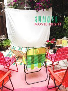 DIY: Crea tu propio cine de verano en casa