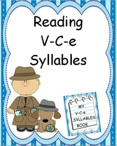 This reading unit provides 54 pages of the V-C-e syllable type word lists. Also, a master list of all the words is included to be used as a quick reference. A V-C-e is one of the six types of syllables in reading. The lists in this unit include words spelled using each vowel in conjunction with common phonograms. These lists of words will help students recognize the common patterns seen in V-C-e syllables.