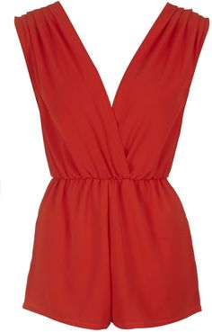 c0f864d8b1a8 Womens poppy playsuit from Topshop - £34 at ClothingByColour.com