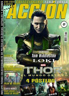 ACCIÓN Octubre 2013 - nº 1310 Portada Loki
