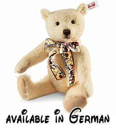 Fritzle Limited Edition Teddy Bear by Steiff - 28cm by Steiff. Fritzle Limited Edition Teddy Bear by Steiff - 28cm #Toy #TOYS_AND_GAMES