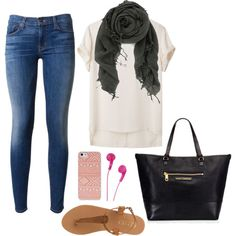 """AirportOutfit"" by mackenzieweston on Polyvore"