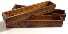 Wooden Yardstick Box - cute project for the boys