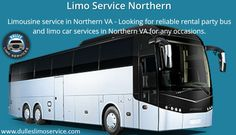 Limousine Party Bus Service in Northern VA - Looking for reliable airport transportation and limo car services in Northern VA for any occasions? Call us now!