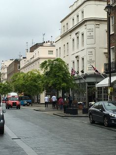 Elizabeth Street in Belgravia, the little neighborhood with The Lime Tree Hotel