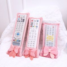 1Pc New Household Organizers Dustproof TV Remote Control Case Air Condition Remote Control Cover Textile Protective Bag #237313 #Affiliate