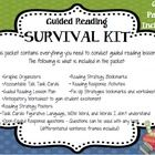 This complete 62 page Guiding Reading Survival Kit is the only resource you need when planning your guided reading lessons all year! All you need t...