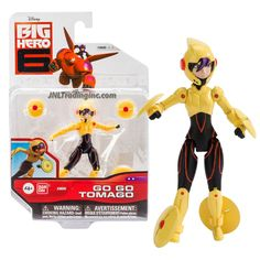 Product Features - Includes: GO GO TOMAGO with 4 Maglev Discs - Go Go Tomago figure measured approximately 4 inch tall - Produced in year 2014 - For age 4 and up Product Description Bandai Year 2014 D Disney Big Hero 6, Baby Disney, Hero 6 Movie, 6th Birthday Parties, Series 4, Action Figures, Children, Ben 10, Special Deals
