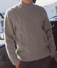 139184--28853168-m750x740 55 (503x600, 72Kb) Cable Knitting Patterns, Knitting Designs, Outfits Casual, Mode Outfits, Sweater Hat, Cable Knit Sweaters, Knitwear Fashion, Pulls, Mens Fashion