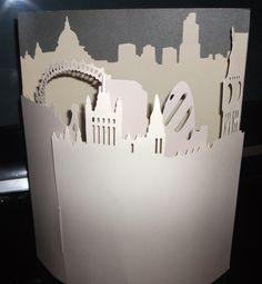 London scene bendi card