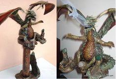 Arte em Esculturas: DRAGÕES