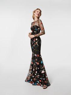 Poză rochie neagră de cocktail (62056)