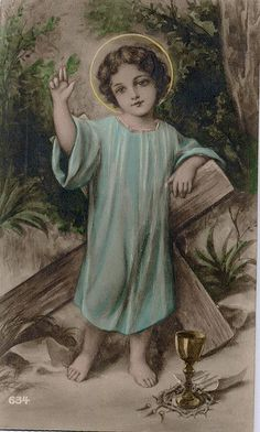 Jesus must have envisioned the Cross his early years Pictures Of Jesus Christ, Religious Pictures, Religious Art, Vintage Holy Cards, Religion, Jesus Face, Christ The King, Mary And Jesus, Holy Mary