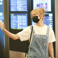 Yu Jin, Overall Shorts, Overalls, Dancer, My Love, Pants, Kpop, Trouser Pants, Jumpsuits