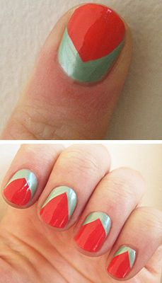 Floral Nail Art for Spring: Tulip Tips