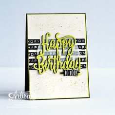 The Stamping Blok | Stamp Review Crew | Stampin' Up! Labeler Alphabet | Rochelle Blok