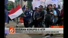 GERAH! Korupsi E-KTP Mahasiswa Lepas Tikus Di Depan DPR