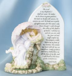 Seraphim Angel - 23rd Psalm Plaque 84424