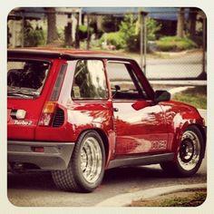 Vintage renault 5 gt turbo