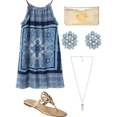 Night out by ktanner02 on Polyvore featuring polyvore, fashion, style, Tory Burch and Amber Sceats