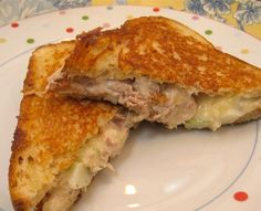Easy and Delicious Hot Sandwiches are Fast to Make: Grilled Chicken and Apple Sandwiches