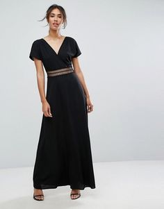 A maxi dress with gorgeous crochet detailing around the waist. - $56, Asos