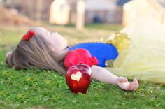 Snow White Themed Session