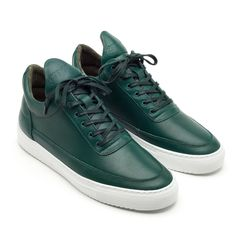 Low Top Greenway Leather