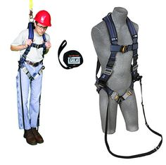 Allows a suspended worker to stand up in his harness to relieve pressure. Tower Climber, Adventure Outfit, Rock Climbing, Golf Bags, Trauma, Cosplay Costumes, Leather Bag, Backpack, Sports