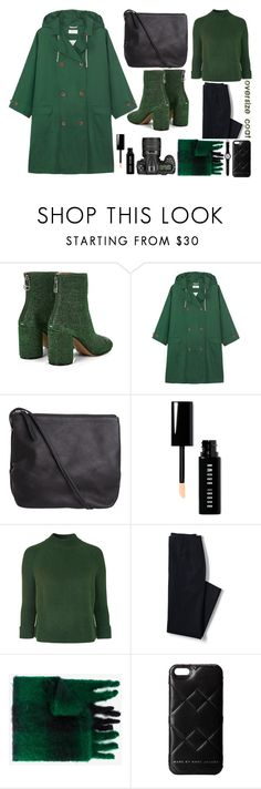 """""""oversize coat"""" by emcf3548 ❤ liked on Polyvore featuring Maison Margiela, Toast, Pieces, Nikon, Bobbi Brown Cosmetics, Topshop, Lands' End, Loewe, Marc by Marc Jacobs and Swatch"""
