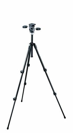 Manfrotto 190XDB Tripod and 804RC2 Head (Black) $192.81
