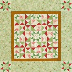 Star Block Table Toppers | AllPeopleQuilt.com
