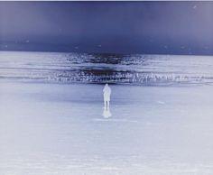 "Richard Misrach, Untitled (Beach Reversal), 2007 Archival pigment print,16 3/8"" x 20"", Ed. of 15"
