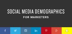 https://social-media-strategy-template.blogspot.com/ Wer erfolgreiches Social-Media-Marketing betreiben will, sollte wissen, auf welcher Plattform sich seine potenziellen Kunden aufhalten. Die folgende Infografik klärt auf.