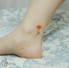 Korean Artist Creates Unbelievably Delicate Watercolor Tattoos