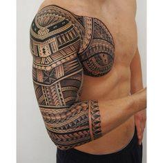 samoa tattoo … #samoantattoossleeves #samoantattoossymbols