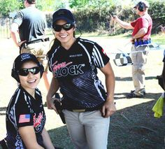 Team GLOCK's Tori Nonaka (Top Gun Tori) was introduced to shooting sports at the age of Michelle Viscusi began her competitive shooting at the age of 21 after joining the Army National Guard. Glock Girl, Tactical Life, Army National Guard, Shield Maiden, Fishing Girls, Guns, Mens Sunglasses, Lady, Model