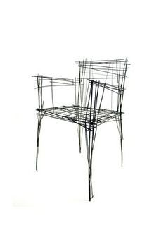 South Korean Designer Creates Furniture That Looks Like Sketches ...