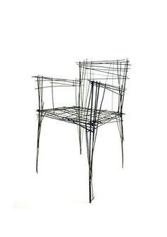 South Korean Designer Creates Furniture That Looks Like Sketches ...