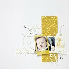 What the scrap ?: stampin up Baby Scrapbook, Scrapbook Pages, Baby Sketch, Baby Album, Scrapbooking Layouts, Scrapbooks, Baby Photos, Stampin Up, Paper Crafts