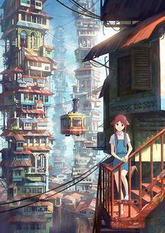 昨日的巨樓 不是所有的心思,都能被人猜透; 不是每一雙眼睛,都能看到同一樣的世界。 用孩子的眼睛看世界,只要風一吹,心便亮起來。 插圖: FeiGiap 文字…