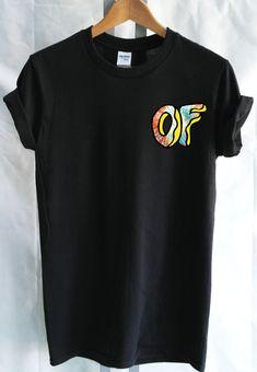 Tinte del lazo del buñuelo futuro extraño mama Logo camiseta