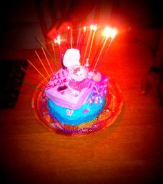 Susie's 21st Bday cake.