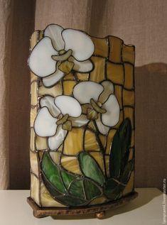 """Лампа """"Белая орхидея"""" – купить в интернет-магазине на Ярмарке Мастеров с доставкой - 3A15XRU"""