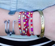 Rainbow Wrap Friendship Bracelet