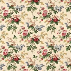 Image detail for -Waverly Emma's Garden Fabric Waverly Fabric, Floral Printables, Paper Hearts, Background Vintage, Drapery Fabric, Chair Fabric, Curtains, Home Decor Fabric, Vintage Paper
