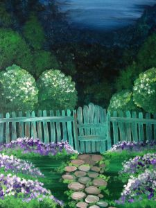 Join us at Pinot's Palette - Woodlands on Sat Mar 2015 for East Hampton Garden. Love Painting, Painting & Drawing, Painting Flowers, Painting Tips, Canvas And Cocktails, Hampton Garden, Valencia, Paint And Sip, Beginner Painting