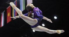 Gymnast Aliya Mustafina of Russia