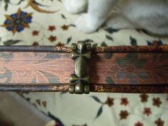 Binding clasp on a book of shadows